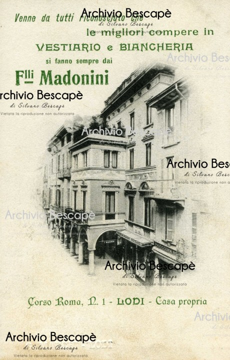 Lodi - Biancheria F.lli Madonini