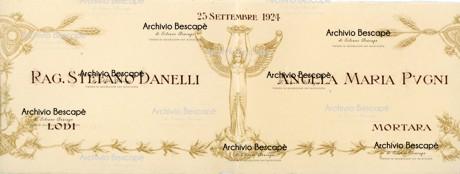 Lodi - Famiglia Pugni e Danelli
