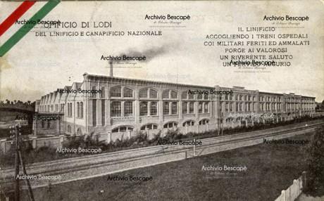 Lodi - Linificio Canapificio Nazionale