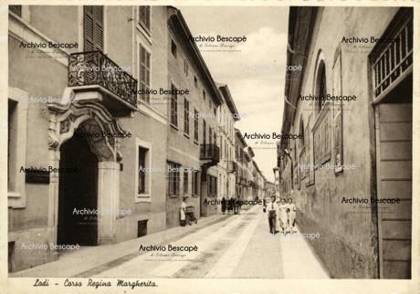 Lodi - Corso Milano poi Regina Margherita (attuale Archinti)