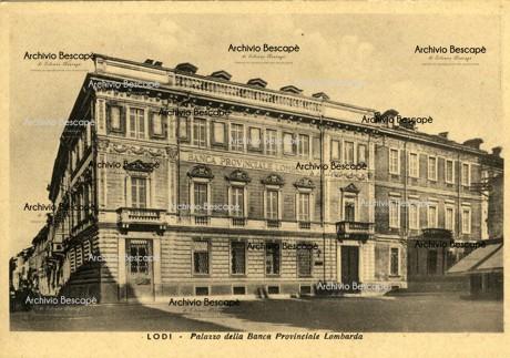 Lodi - Palazzo della Banca Provinciale Lombarda