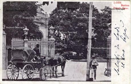Lodi - Porta Vittorio Emanuele (anche Porta Castello, Porta Vittoria e Porta Regale)