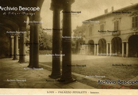 Lodi - Palazzo Pitoletti (attuale Palazzo Modignani)